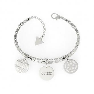 Bracelet PEONY ART Guess en acier argenté UBB29110-S