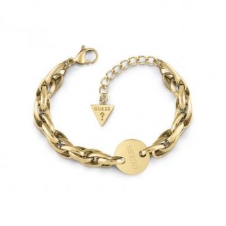 Bracelet REACTION Guess en acier doré UBB29032-S