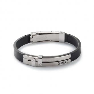 Bracelet Fossil en acier