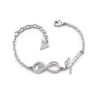 Bracelet Guess Endless Love en acier argenté UBB85065-S