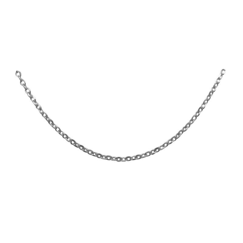 "Homard Fermoir Tailles 22/"" 050-2.50 mm corde chaîne .925 solid sterling silver D//C"