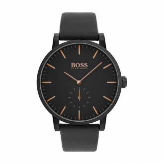 Montre Essence Hugo Boss cuir noir 1513768
