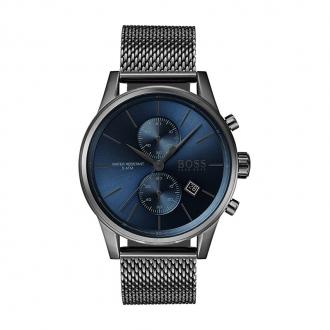 Montre Jet Hugo Boss acier bleu nuit 1513677
