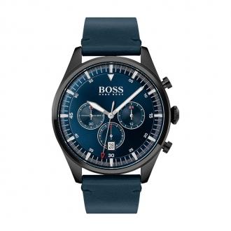 Montre Pioneer Hugo Boss cuir bleu nuit 1513711
