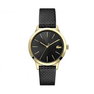 Montre Prenium 12.12 Lacoste cuir noir 2001090