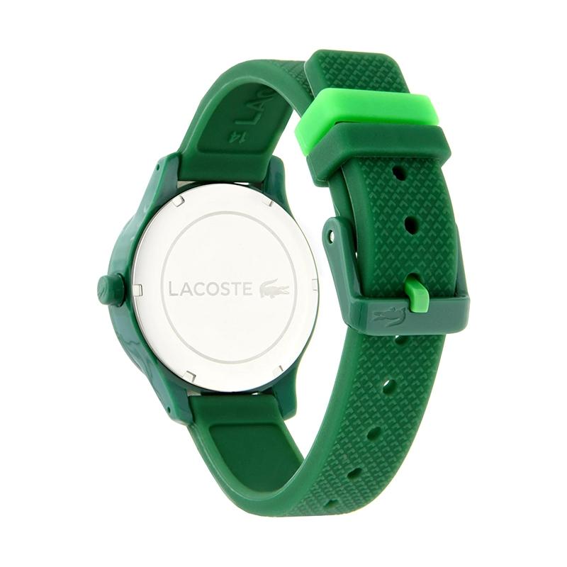 Montre Enfant 12.12 Lacoste silicone vert 2030001