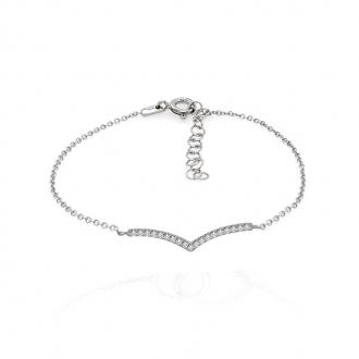 Bracelet CARADOR Femme argent 925/000 pavage zircons
