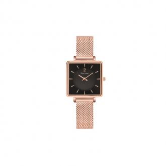Montre Pierre Lannier Femme  Lecaré dorée rose 008F938