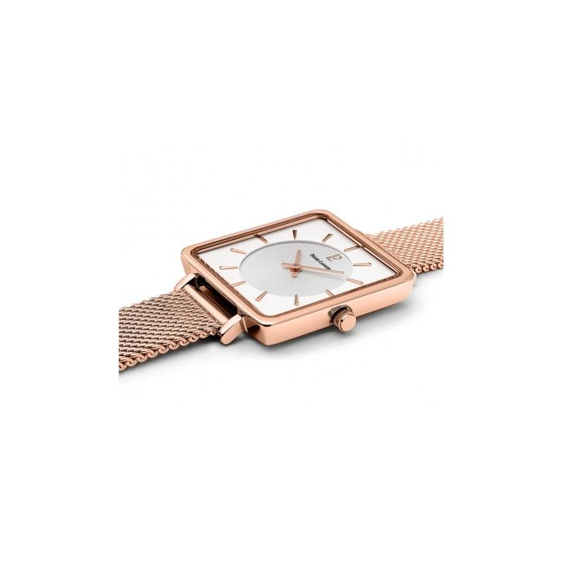 Montre Pierre Lannier Femme  Lecaré dorée rose 008F928