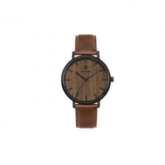 Montre homme Pierre Lannier cuir brun 241D384