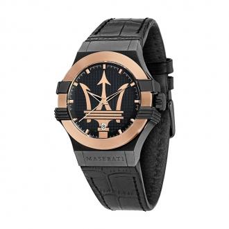 Montre Potensa Maserati homme cuir noir R8851108032
