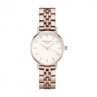 Montre femme Rosefield The Small Edit plaqué or rose 26BRG-270