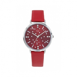 Montre Miss Constellation Go Girl Only cuir rouge 699281