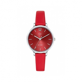 Montre Miss Délice Go Girl Only cuir rouge 699942