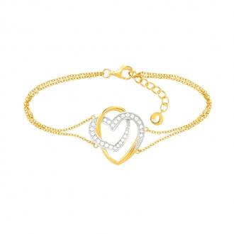 Bracelet Jourdan Bijoux Roxane argent 925/000 AMK 055