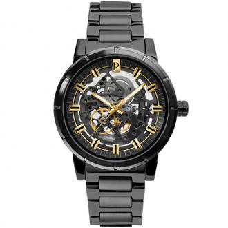Montre Pierre Lannier Automatic acier noir