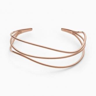 Bracelet Jonc Femme Sakgen Kariana acier doré rose SKJ1215791