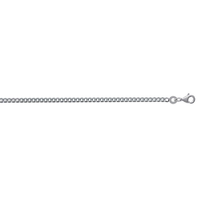 Collier chaine 60 cm argent massif 925//000maille Forçat diamantée ciselé sur CDE
