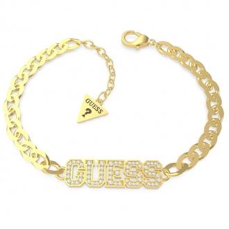 Bracelet Guess Love acier doré