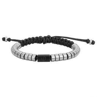 bracelet Phebus homme acier argenté