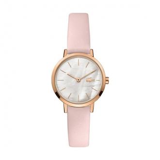 Montre Femme Lacoste mini MOON cuir rose clair
