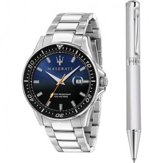 Coffret Maserati Homme montre et stylo