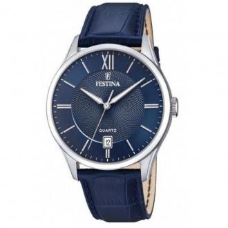Montre Homme Festina Bleu bracelet cuir