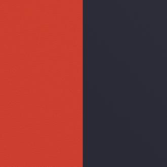 Vinyle simili pour bague 12 mm Les Georgettes Corail/ Marine