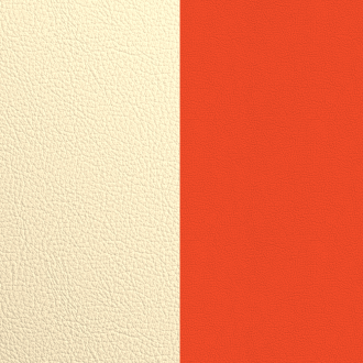 Vinyle simili pour bague 12 mm Les Georgettes Satin doré/ Capucine