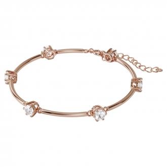 Bracele CONSTELLATION Swarovski en métal doré rose