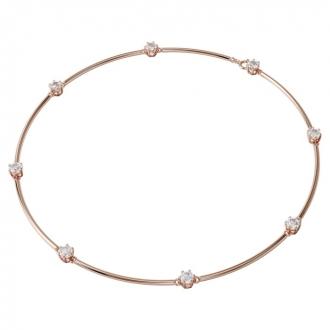 Collier Constellation en métal doré rose