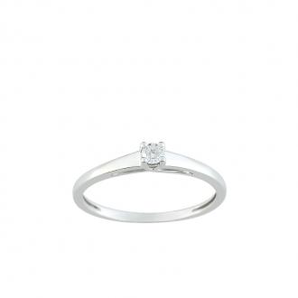 Carador - Solitaire OR 750/000 et Diamant
