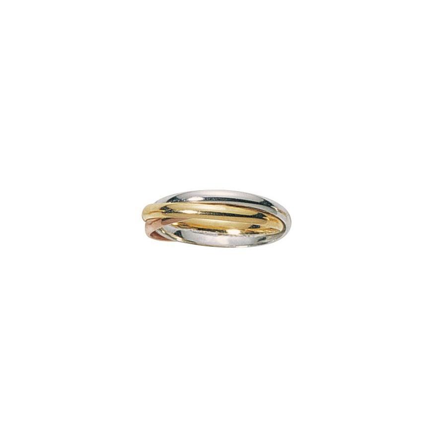 537eedd4c9b3be Alliance trois ors 375 000, trois anneaux entrelacés pour HOMME et FEMME