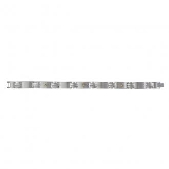 Phebus - Bracelet Acier et OR 750/000 34-0262
