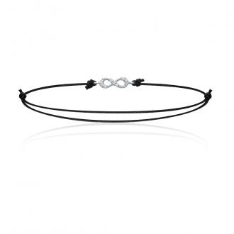 Bracelet Carador Cordon Argent 925/000