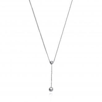 Collier Carador Boule Argent 925/000 42 cm