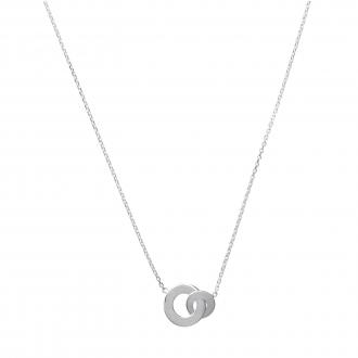 Collier Carador Argent 925/000 Pendentif Cercle