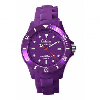 Montre Colori 5-COL004 violet 40mm
