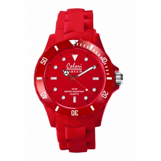 Montre Colori 5-COL011 rouge 40mm