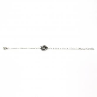 Amporelle Bracelet en Acier et Céramique