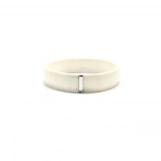 Bracelet Carador céramique blanche largeur 13 mm