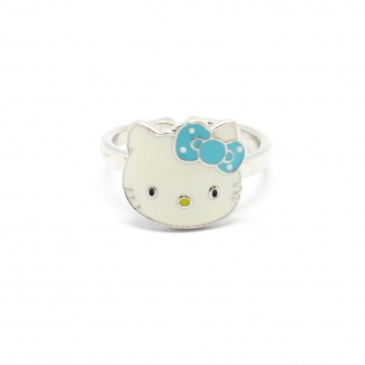 Hello Kitty - Bague Acier