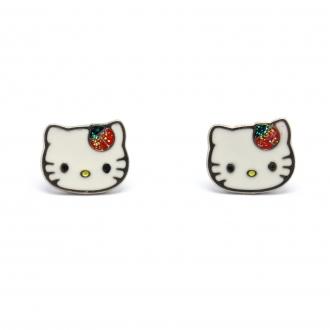 Hello Kitty - Boucles d'oreilles Acier