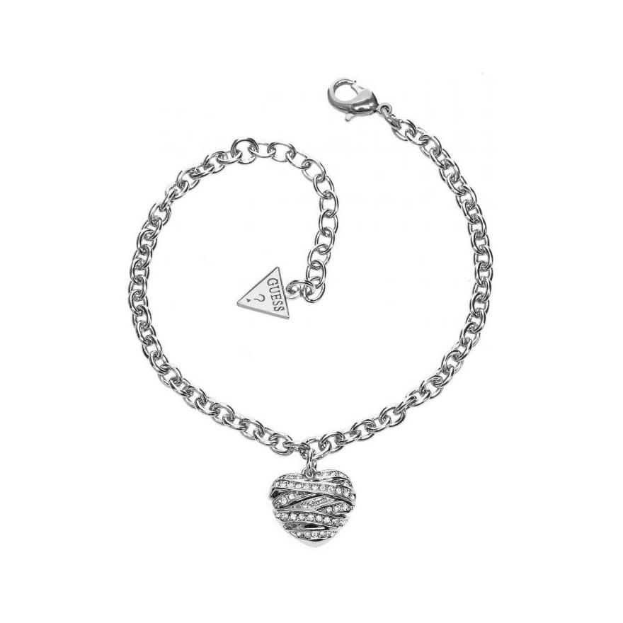 Bracelet Guess coeur UBB21594 pour FEMME 8a09b327ddf