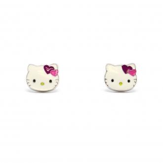 Hello Kitty - Boucles d'oreilles Argent 925/000