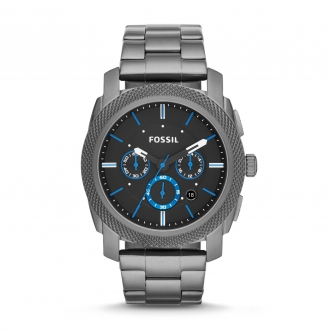 Montre FOSSIL Machine chronographe en acier inoxydable FS4931