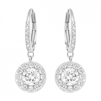 Boucles d'Oreilles SWAROVSKI ATTRACT LIGHT:PE CZWH/CRY/RHS
