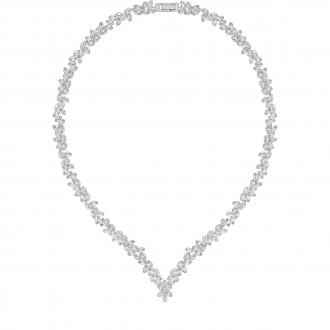 Collier SWAROVSKI DIAPASON:ALL-AROUND V CRY/RHS