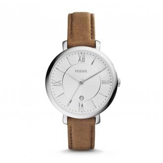 Montre Fossil Jacqueline bracelet en cuir brun ES3708