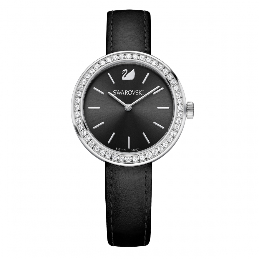 Montre Swarovski bracelet noir 5172176